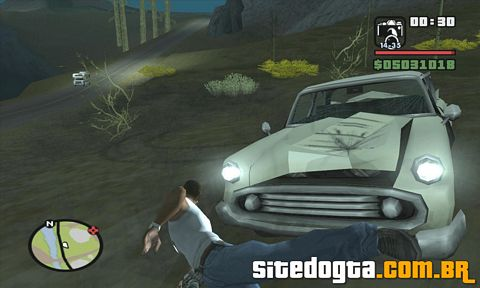 Mod do Carro fantasma para GTA San Andreas