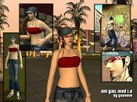 mod de mm girl para gta san andreas